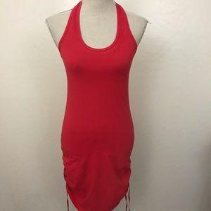 lululemon athletica Dresses - Lululemon Red It's a Cinch Dress
